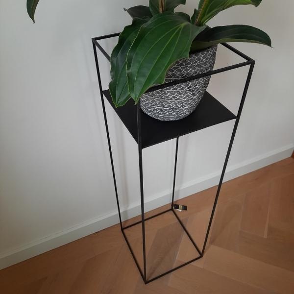 Plantenzuil zwart